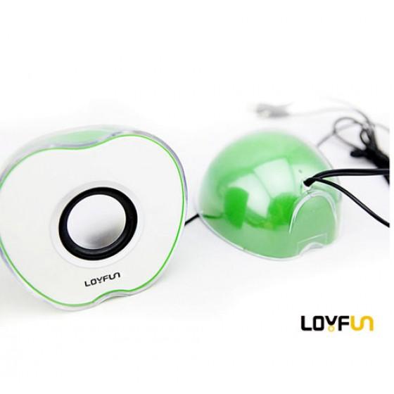 Loa vi tính Loyfun LF 805 hình quả táo loa vi tinh loyfun lf 805 hinh qua tao 3