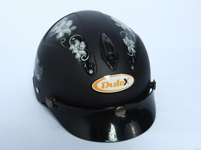 Mũ bảo hiểm Dulex không kính sành điệu   Chính hãng mu bao hiem khong kinh chinh hang tien dung 1